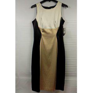 J. Taylor Sleeveless Modern Social Dress Sz 6 NWT